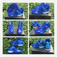 Wholesale Authentic Carbon Fiber Men IV Retro Patent Blue Sneaker Men s Sports Basketball Shoes