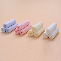 Wholesale 10PC layer ecological cotton reusable diapers washable baby cloth diaper micro infant nappy changing napkins VT0016 salebags