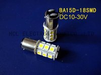 Wholesale High quality V led brake lights DC10 V BA15D led stop lights led boat lights