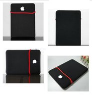 Unisex used laptop - Laptop Double Side Use Waterproof Neoprene Cover Case For Macbook Pro Air Notebook Laptop Sleeve bag quot quot quot Ultrabook bag