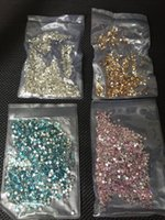 Wholesale Golden Nail Manicure Rhinestones Decorations