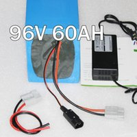Cheap 96V 60Ah electric bike battery , 3000W High Power Electric Bicycle lithium Battery with BMS Charger 96v li-ion scooter battery pack