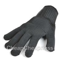 Wholesale Safety Stainless Steel Wire Works Cut Proof Stab Resistance Gloves New Safety Gloves