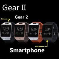 galaxy gear smart watch - LX36 Gear Smart Watch Smartphone Partner GB Bluetooth MP Camera Touchscreen Wristwatch For Galaxy S5 S4 Note iphone s