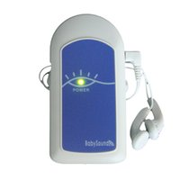 Wholesale Medical Equipment FDA CE Approved Blue Color Fetal Doppler Prenatal Heart Monitor MHz without LCD Display