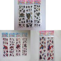 Wholesale 17 cm The Avengers children Sticker Spiderman Batman Superman Decorative Stickers