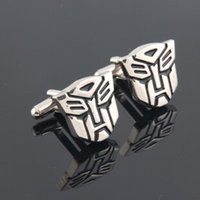 Wholesale New Statement Jewelry Styles Marvel Superhero Cufflink For Shirt French Cufflinks Men Jewelry Male Cuff Links