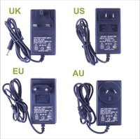 Wholesale New V A Power Supply Adapter For RGB Led Strip V V to V EU US AU UK Cord Plug LED Strips Transformer