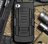 armor lock - Armor Hybrid Dual Layer Holster Case for iPhone Plus s s Kickstand Locking Belt Clip Cover for Samsung S3 S4 S5 Note4 Note3 Note2