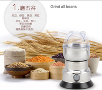 Wholesale New Coffee Grinder machine Coffee miller Intelligent stainless steel Household Electric Grinding Machine Beans Nuts Grinder
