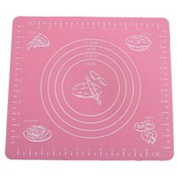 Wholesale Hot Sale Pc Non stick Cooking Baking Mats Knead Flour Pad Oven Cake Placemat Roll Kitchen Rolling Cutting Pad Baking Tools QB673187
