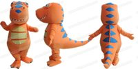 adult dinosaur outfit - AM9240 Dinosaur Train Character Buddy mascot costume Fur mascot suit cartoon mascot outfit adult fancy dress
