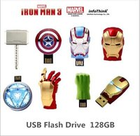 128gb usb flash drive - 2015Iron Man3 hand Energy ring series gb USB Flash drive Memory drive Stick Pen ThumbCar USB disk01