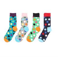 Cheap Cotton Socks Skateboarding Socks Middle Tube socks British Style Elegant Socks Mens Sports Socks Happy socks EMS Free Shipping