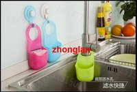 Wholesale object hanging basket sink drop pocket multi functional kitchen bathroom toilet soap storage rack storage basket Snack container