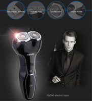 Wholesale New Arrival USB Rechargeable Good Mens Electric Shaver Shaving Razor Water Washing Floating Double Head