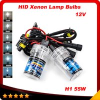auto headlight replacement - New pair H1 W Xenon for HID Replacement V Car Auto Headlight Light K K K K K K Lamp