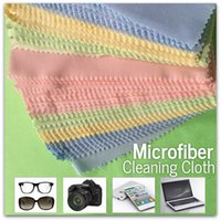 Wholesale Microfiber Cleaning Cloth for Cleaning Glasses Camera Lenses Phone Tablets Screens Made of Polyester Nylon Size x14cm
