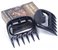 bear paw outdoors - Bear Paw Meat Handlers BBQ tools PC food grade Bear claw fork set Outdoor Cooking Eating tool
