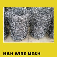 barbed wire - ELECTRO GALVANIZED BARBED WIRE FACTORY FOB PRICE PER ROLL FOR INDUSTRY USE