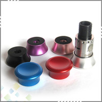 aluminum decking materials - Newest RDA Stand Holder Base Atomizers E Cigarettes Clearomizer Deck Stand Aluminum Material Colorful Thread DHL Free