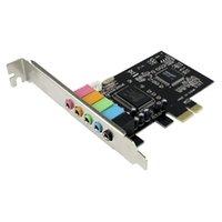 Wholesale Brand New PCI Express PCI E ch channels CMI8738 Audio Sound Card D5257A