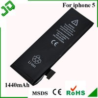 Wholesale 5G Batteries Replacement Internal Battery for Apple iPhone G V mAh Li ion Cell Phone Battery AA Quality