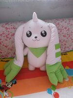 big agent - Digimon Mo turn white ear beast manual filling doll Terriermon cm Invite agents price concessions