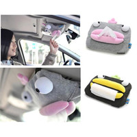 auto tissue holder - Auto Sun Visor Tissue box Car Accessories Holder Paper Napkin Clip Cute NEW