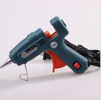 Súper NYLEO Hot Melt pegamento pistola profesional de Paintless Dent Repair Tool 20w 7mm-100v 240v calor rápida para todo tipo DIY Joyería Artesanía Vinculación