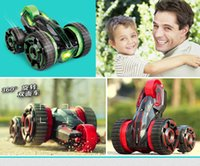 big buggy - 360 Spins Double Side Car Rounds Stunt IN Electric Buggies Car Children s toys remote control Car