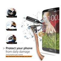 Wholesale 10PCS High Quality Ultra thin Clear Real Tempered Glass Screen Protector For LG G2 G3 G4 mini L70 L80 L90 nexus nexus TGOPP