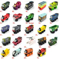 Wholesale Toy Car Kids Toy Toy Car Hot Kids Small Train Toy Children Wooden Thomas Locomotive and Thomas Orbit Toy