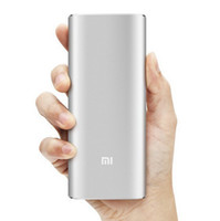 Wholesale Newest Original Xiaomi Power Bank mAh Dual USB Xiaomi Portable Charger Powerbank chargers for All Phones Tablet