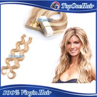 Cheap Tape in huamn hair extensions Best tape human hair extensions
