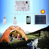 bank commercial - Outdoor Solar Power Bank Travel Essentials Kit Camping Waterproof LED Bulb Mobile Power Solar Lamp for Phone Charging