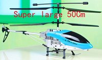 Cheap Hot sale ! Intelligent remote control toy plane 3.5 channel Big guy 50cm rc helicopter Free shipping