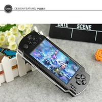 Wholesale 8GB inch PMP Handheld Game Player MP4 MP5 Game Player With Camera TV out FM more than games G02
