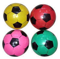 Wholesale 20cm inflatable beach toys ball sports soccer ball soccer cheer football toy