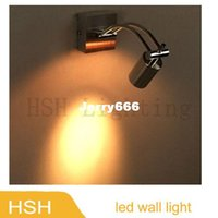 led picture light - Modern style W led wall light as reading lamp picture lighting V V fast shipping
