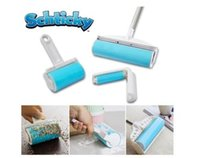 Wholesale Schticky dust remover Sticky Buddy Pet Hair Remover Dog Cat Groom Brushes lint roller wool set sticky wool