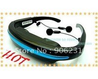 Wholesale New GB inch Wide Screen Virtual Display Eyewear Stereo Video Glasses
