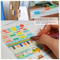 Wholesale Lovely Stickers Decoration Sticker set Rainbow Market Stickers sheets bag bags