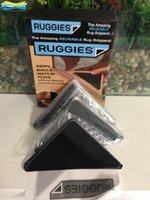 Wholesale 2015 RUGGIES Rug Grippers Stick Triangle Anti Slip PU Mats Powerful Silica Gel Strong Magic Pad for Rug Carpet Mat Grippers For bathroom Mat