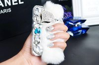 Cheap 2015 Luxury Diamond Perfume bottles Phone Case cover wallet for Iphone 4 4s Iphone 5 5s Iphone 6 6puls Apple Phone Shell free shipping DHL