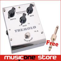 bass guitar tremolo - Biyang ToneFancier TR Analog Tremolo Guitar Bass Effect Pedal Wave Form Adjust True Bypass MU0189