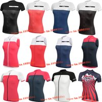 air vest - Women New MALOJA dotout Team Female Cycling Jersey Cycling Vest MTB ROAD Breathing air D gel Pad