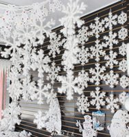 Wholesale Christmas snowflake affordable very realistic Very suitable for Christmas trees and window decoration and family Settings