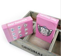 Wholesale kpop SNSD SPAO Girls Generation official poker box buy playing cards