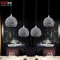 Wholesale modern restaurant chandelier dome light dining room lighting hanging lamps for dining fashion indoor lighting fixtures
